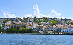 Pylos landscape in Messinia Greece. Pylos landscape in Messinia Peloponnese Greece Stock Photo