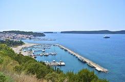 Pylos in Messinia Greece stock photo