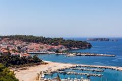 Pylos port stock photos