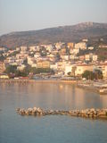 Pylos. View of town of Pylos, Greece royalty free stock photo