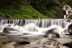 Pylypets River near the Shypit Waterfall (Ukraine 2016) Royalty Free Stock Photo