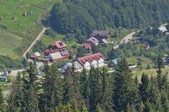 Pylypets - uma vila em Ucrânia Fotos de Stock
