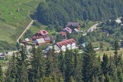 Pylypets - a village in Ukraine Stock Photos