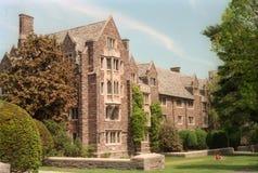 Pyne Corridoio - università di Princeton immagine stock