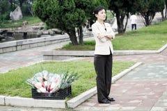 οδική τοπίο του Pyongyang του 2011 Στοκ εικόνες με δικαίωμα ελεύθερης χρήσης