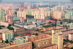 Pyongyang architecture, North Korea Stock Photo