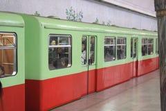 Pyongyang metro Zdjęcie Stock