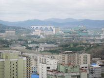 Pyongyang, nel Korea di Nord. Immagine Stock Libera da Diritti