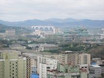 Pyongyang, in Noord-Korea. Royalty-vrije Stock Afbeelding