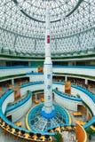 PYONGYANG NORR KOREA-OCTOBER 13,2017: Modellen av ett ballistiskt Royaltyfri Foto