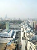 Pyongyang, in North Korea. Stock Images