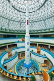 PYONGYANG, północ KOREA-OCTOBER 13,2017: Model balistyczny Zdjęcie Royalty Free