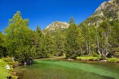 Pyrénées en Espagne Images libres de droits