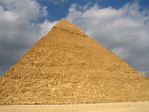 Pyramid. View of cheops pyramid in Egypt royalty free stock photography