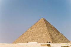 Pyramid. Ancient Egyptian pyramids in Giza Stock Photography