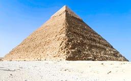 Pyramid stock image