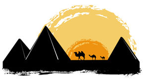 Pyramid  Royalty Free Stock Photography