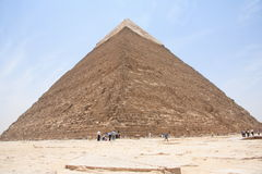 Pyramid. The second biggest pyramid in Egypt Royalty Free Stock Photo