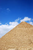 Pyramid. Close-up of the pyramid - tomb of the pharaoh in Giza, Egypt Royalty Free Stock Images