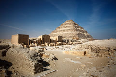 Pyramid. Step pyramid in cairo, egypt Stock Photography