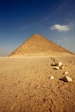 Pyramid. The most famous pyramid in egypt. the Khufu pyramid Royalty Free Stock Photos