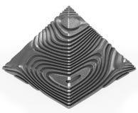 Pyramid alien Royalty Free Stock Photo