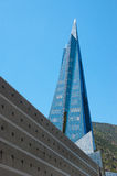 The pyramid in Andorra la Vella Royalty Free Stock Photo