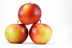 Pyramid of apples Royalty Free Stock Images