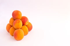 Pyramid of Apricots Royalty Free Stock Photography