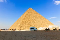 Pyramid area nice place in egypt royalty free stock photo