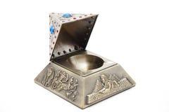 Pyramid as ashtrays Royalty Free Stock Photography