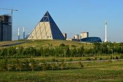 The Pyramid in Astana / Kazakhstan Stock Photo