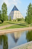 The Pyramid in Astana / Kazakhstan Royalty Free Stock Images