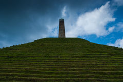 Pyramid of Austerlitz Royalty Free Stock Photos