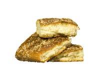 Pyramid av bröd Arkivfoton