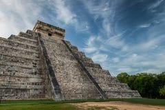 Pyramid av Kukulcan Royaltyfria Bilder