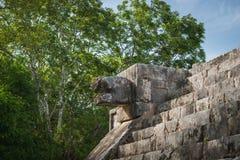 Pyramid av Kukulcan Fotografering för Bildbyråer