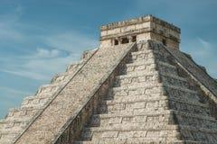 Pyramid av Kukulcan Arkivfoto