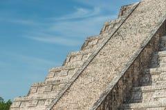 Pyramid av Kukulcan Arkivfoton