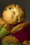 Pyramid av muffin Arkivfoto