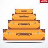 Pyramid av tappningresväskorna royaltyfri illustrationer