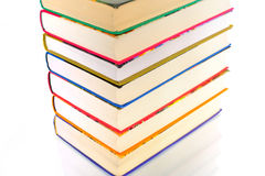 Pyramid of books Royalty Free Stock Photo