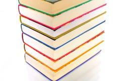 Pyramid of books Royalty Free Stock Photo