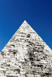 Pyramid of Cestius is Egyptian Stock Images