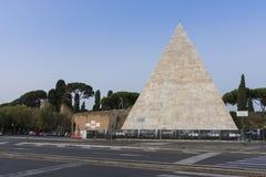 Pyramid of Cestius Royalty Free Stock Image