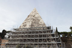 Pyramid of Cestius Royalty Free Stock Images