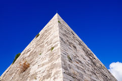 Pyramid of Cestius, Rome Stock Image