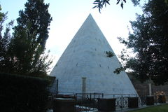 Pyramid of Cestius, Rome Royalty Free Stock Photo