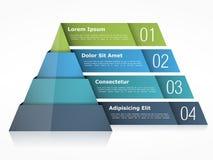 Pyramid Chart Royalty Free Stock Photos