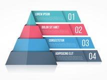Pyramid Chart Royalty Free Stock Images